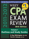 Wiley CPA Examination Review, Outlines and Study Guides (eBook)